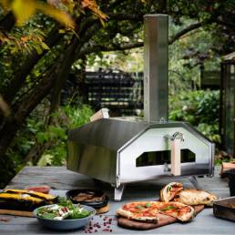 pizza-oven, multifunctionele buitenoven.
