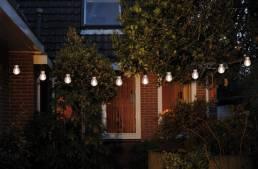 Tuinverlichting lichtsnoer 10m